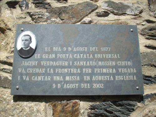 Placa església Sant Esteve La Tor